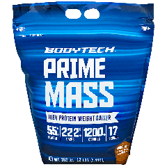 BODYTECH PRIME MASS CHOCOLATE (17 serv) 12 lb