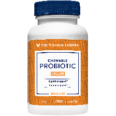 THE VITAMIN SHOPPE PROBIOTIC CHEWABLE 2 bill (100 tab)