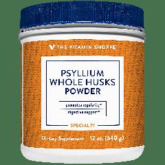 THE VITAMIN SHOPPE PSYLLIUM WHOLE HUSK POWDER (68 serv) 340 g