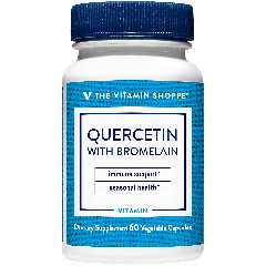 THE VITAMIN SHOPPE QUERCETIN W/ BROMELAIN (60 cap)