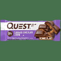 QUEST PROTEIN BAR CARAMEL CHOCOLATE CHUNK 20g