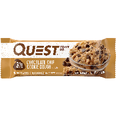 Questbar- Chocolate chip cookie dough
