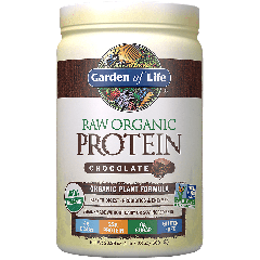 GARDEN OF LIFE RAW ORGANIC PLANT PROTEIN CHOCOLATE (20 serv) 1.4 lb