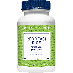THE VITAMIN SHOPPE RED YEAST RICE 1200 mg (120 cap)