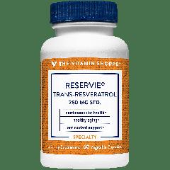 THE VITAMIN SHOPPE RESERVIE TRANS-RESVERATROL 250 mg (60 veg cap)