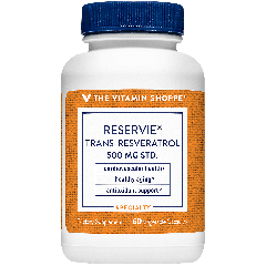 THE VITAMIN SHOPPE RESERVIE TRANS-RESVERATROL 500 mg (60 veg cap)