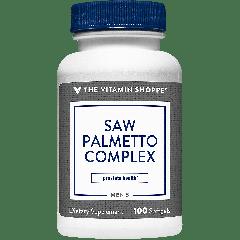 THE VITAMIN SHOPPE SAW PALMETTO COMPLEX (100 soft)