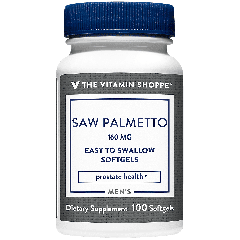 THE VITAMIN SHOPPE SAW PALMETTO EXTRACT 160 mg (100 soft)