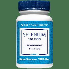 THE VITAMIN SHOPPE SELENIUM 100 mcg (100 tab)