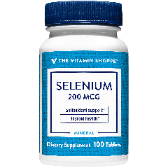 THE VITAMIN SHOPPE SELENIUM 200 mcg (100 tab)
