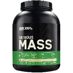 OPTIMUM NUTRITION SERIOUS MASS VANILLA (8 serv) 6 lb