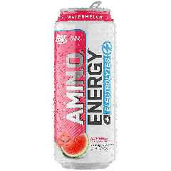 OPTIMUM NUTRITION SPARKLING AMINO ENERGY + ELECTROLYTES WATERMELON (12 fl oz)