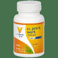 THE VITAMIN SHOPPE ST. JOHNS WORT EXTRACT 300 mg (60 veg cap)