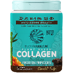 SUNWARRIOR SUNWARRIOR PLANT BASED COLLAGEN CHOCOLATE (20 serv) 17.6 oz