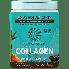 SUNWARRIOR SUNWARRIOR PLANT BASED COLLAGEN CHOCOLATE (20 serv) 17.6 oz