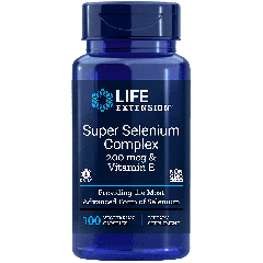 LIFE EXTENSION SUPER SELENIUM COMPLEX 200 mcg (100 veg cap)