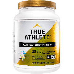 TRUE ATHLETE NATURAL WHEY PROTEIN VANILLA (23 serv) 1.5 lb