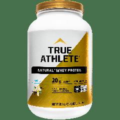 TRUE ATHLETE NATURAL WHEY PROTEIN VANILLA (39 serv) 3 lb