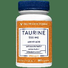 THE VITAMIN SHOPPE TAURINE 500 mg (100 cap)