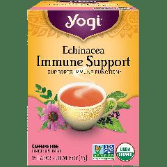 YOGI TEA TEA ECHINECEA IMMUNE SUPPORT