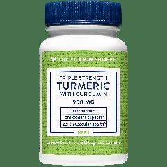THE VITAMIN SHOPPE TRIPLE STRENGTH TURMERIC W/ CURCUMIN 900 mg (30 veg cap)