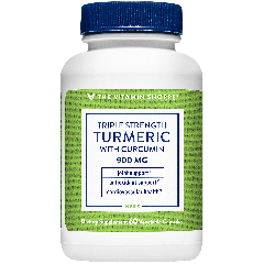 THE VITAMIN SHOPPE TRIPLE STRENGTH TURMERIC W/ CURCUMIN 900 mg (60 veg cap)
