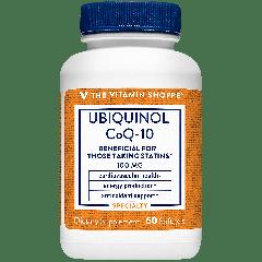 THE VITAMIN SHOPPE UBIQUINOL COQ 10 100 mg (60 soft)