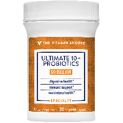 THE VITAMIN SHOPPE ULTIMATE 10+ PROBIOTIC 50 bill (30 veg cap)
