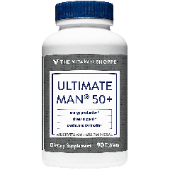 THE VITAMIN SHOPPE ULTIMATE MAN 50+ MULTI (90  tab)