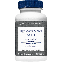 THE VITAMIN SHOPPE ULTIMATE MAN GOLD MULTIVITAMIN 90 EA