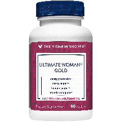 THE VITAMIN SHOPPE ULTIMATE WOMAN GOLD MULTI (90 tab)