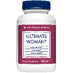THE VITAMIN SHOPPE ULTIMATE WOMAN MULTI (180 tab)