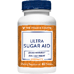 THE VITAMIN SHOPPE ULTRA SUGAR AID (60 tab)