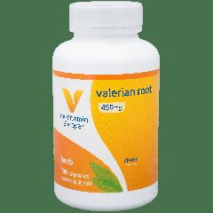 THE VITAMIN SHOPPE VALERIAN ROOT 450 mg (100 cap)