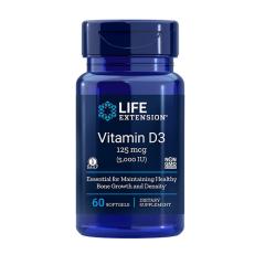 LIFE EXTENSION VITAMIN D3 5000 UI (60 cap)
