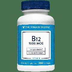 THE VITAMIN SHOPPE VITAMIN B12 1000 mcg (300 sublingual)