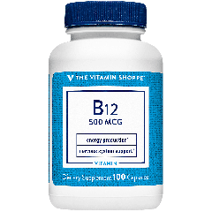 THE VITAMIN SHOPPE VITAMIN B12 500 mcg (100 cap)