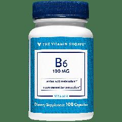 THE VITAMIN SHOPPE VITAMIN B6 100 mg (100 cap)