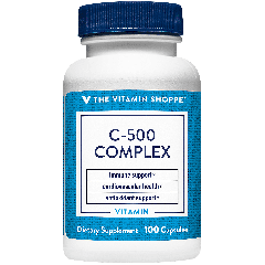 THE VITAMIN SHOPPE VITAMIN C-500 COMPLEX 500 mg (100 cap)
