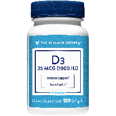 THE VITAMIN SHOPPE VITAMIN D3 1000 UI (100 soft)