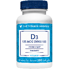 THE VITAMIN SHOPPE VITAMIN D3 5000 UI (200 soft)
