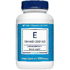 THE VITAMIN SHOPPE VITAMIN E 200 UI (100 soft)