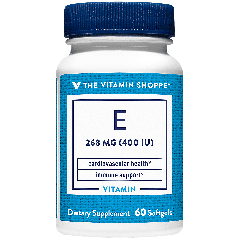 THE VITAMIN SHOPPE VITAMIN E 400 UI (60 soft)