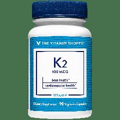 THE VITAMIN SHOPPE VITAMIN K2 - 100 mcg (90 veg cap)
