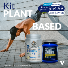 kit plant organic plant protei- creatine monohidratada
