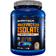 BODYTECH WHEY PROTEIN ISOLATE COOKIES & CREAM (22 serv) 1.5 lb