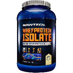 BODYTECH WHEY PROTEIN ISOLATE FRENCH VANILLA (45 serv) 3 lb