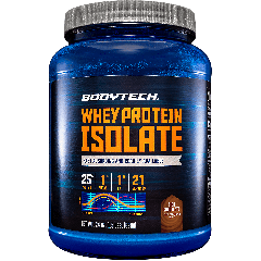 BODYTECH WHEY PROTEIN ISOLATE RICH CHOCOLATE (21 serv) 1.5 lb