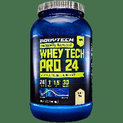 BODYTECH WHEY TECH PRO 24 NATURAL VANILLA (28 serv) 2 lb