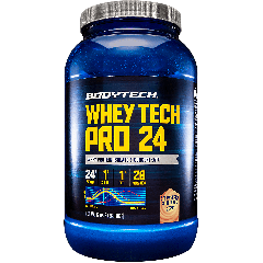 BODYTECH WHEY TECH PRO 24 STRAWBERRY SHORTCAKE (28 serv) 2 lb